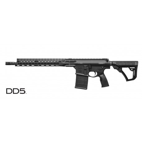 "DD5™ V1 Rifle 7.62mm x 51/308 Win W/ 16"" Barrel - Mid Length"