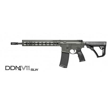 "Daniel Defense DDM4V11 SLW Deep Woods 5.56mm NATO W/14.5"" Barrel - Mid Length"