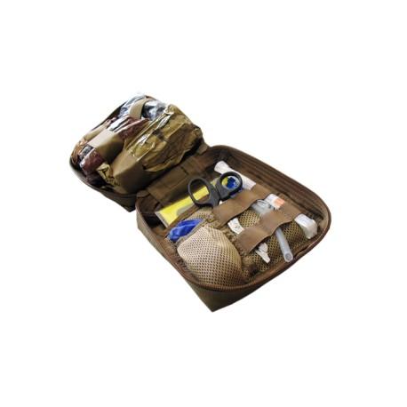 Convertible drop leg pouch filled Basic