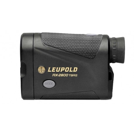 Leupold RX-2800 TBR/W Laser Rangefinder Black/Gray OLED Selectable