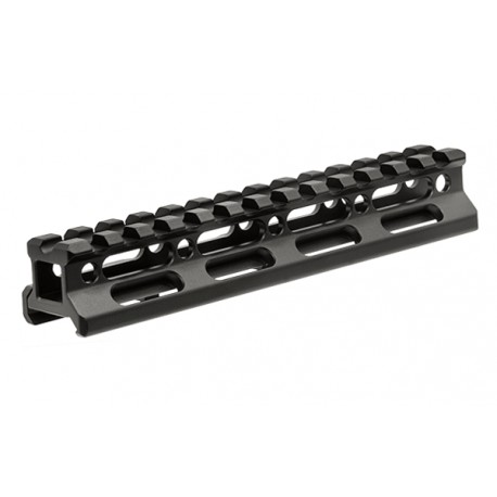 "UTG Super Slim Picatinny Riser mount 0.75"" height 13 slots"