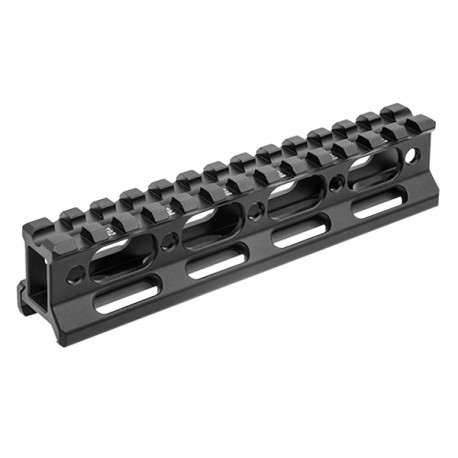 "UTG Super Slim Picatinny Riser mount 1"" height 13 slots (copie)"