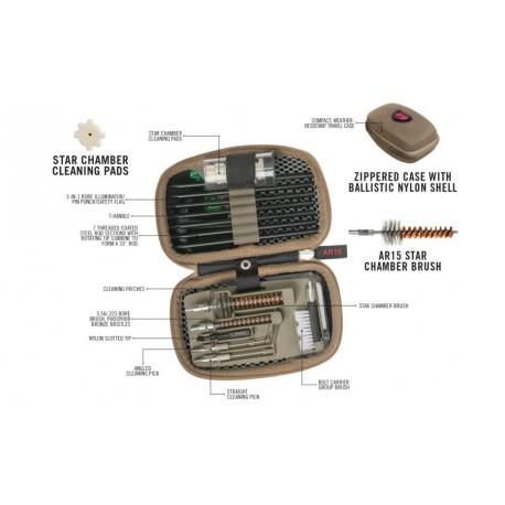 Gunboss-AR15 Compact AR15 rod cleaning kit