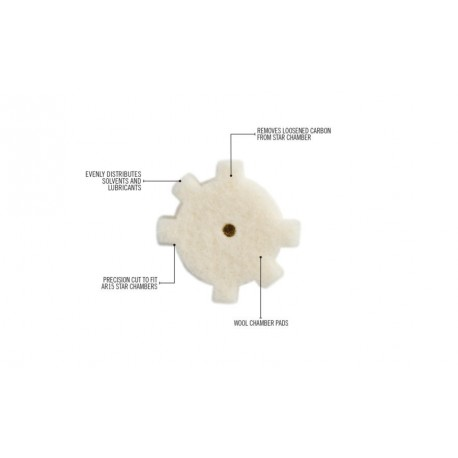 AR 15 Star chamber cleaning pads