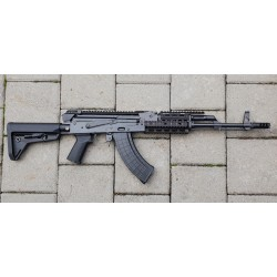 AKM47 Warrior III FT Mil Spec semi auto 415 mm barrel cal. 7,62x39 Picatinny handguard & Flat Top