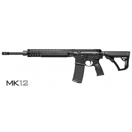 "Daniel Defense MK12 18"" stainless Steel Barrel Black"