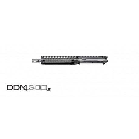 "Daniel Defense 300 S, URG, 10.3"" 300 AAC Blackout, 1:8 Black"