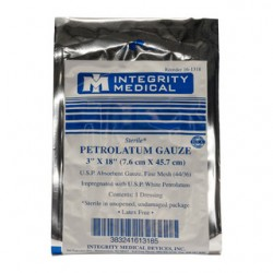 Petrolatum Gauze 7.6X56cm Sterile