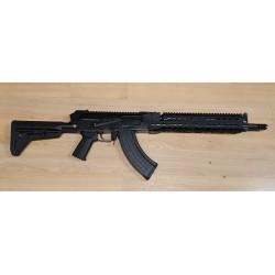 AKM47 Warrior IIIL FT Mil Spec semi auto 415 mm barrel cal. 7,62x39 Picatinny handguard & Flat Top Type Black