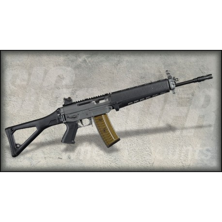 "SIG 551 Long Barrel 454mm Green mit Diopter pas de rayure 10"" semi auto"