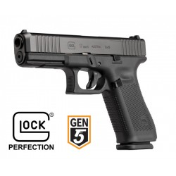 Glock 17 Gen5 FS 9x19mm Para - Black