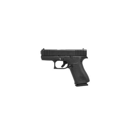 Pistolet Glock 43X FS Rail , cal 9X19 , Noir .