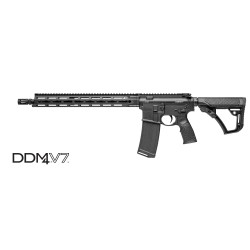 "Daniel Defense DDM4 V7 16"" 5.56 NATO Black"