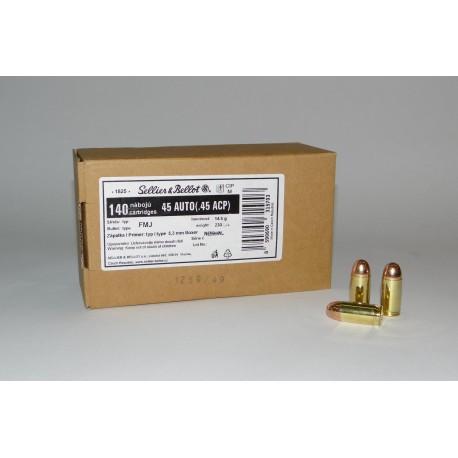 SB .45 ACP 230 grain FMJ Bulk Pack of 1120