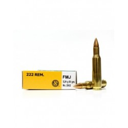 Sellier & Bellot .223 Rem FMJ 50 grs box of 50