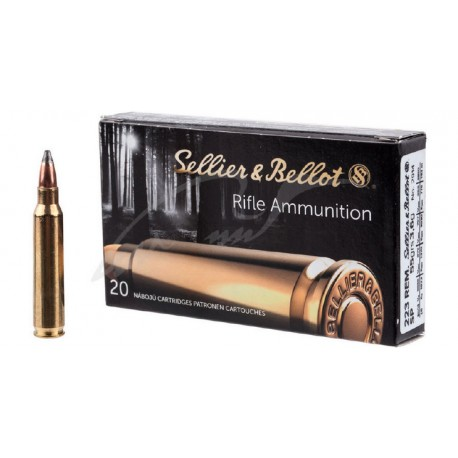 SB .223 Remington SP 3.6g 55gr box of 20