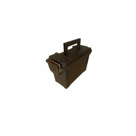 Caisse pour munition , plastique , noire, 24X16X11
