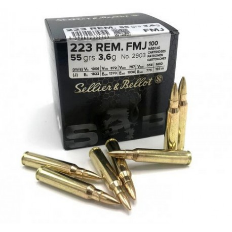 SB .223 Remington FMJ 3,6g 55gr pack of 1120