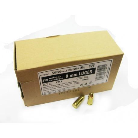 SB 9 Para FMJ 124 grains bulk pack of 1000