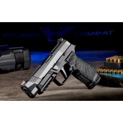 Wilson Combat/SIG Sauer P320 Full Size 9mm Black Action Tune W/Straight Trigger