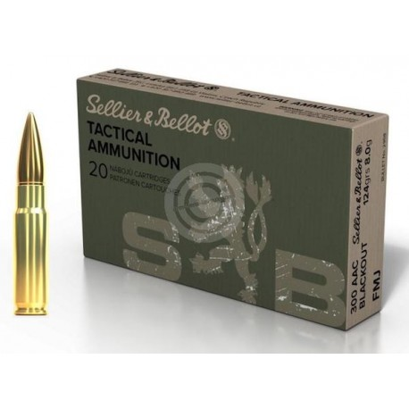 SB .300 AAC 8g 124gr FMJ box of 20