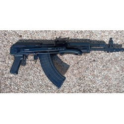 AKM47 Mil Spec semi auto 350mm barrel cal. 7,62x39 Black composite grip and side folding stock