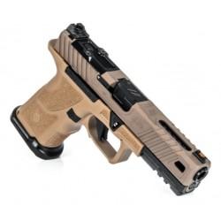 ZEV OZ9 Elite Covert Pistol Standard FDE Slide BLK BBL