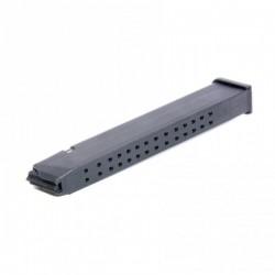 Glock 17 / 19 / 26 9mm (32)Rd Black Polymer Magazine