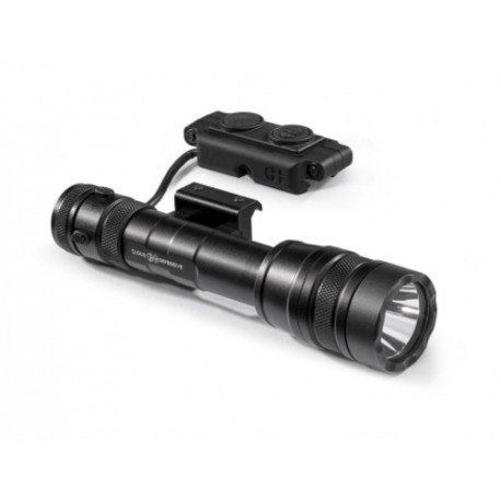 REIN light, picatinny mount, remote switch, Light Control System, battery and charger