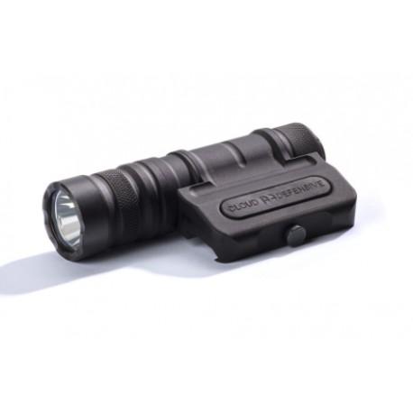 Optimized Weapon Light, full kit, charger, 2 batteries Black