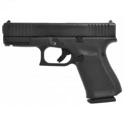 Glock 19 Gen5 FS MOS Threaded Barrel M13.5x1L 9x19mm Para - Black