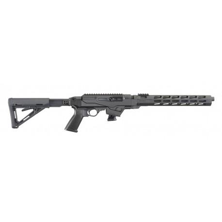 Ruger Semi Automatique ,PC Carbine aluminium HandGuard, crosse tétéscopique , Take-Down cal 9X19
