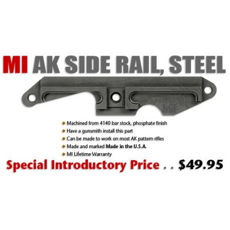 MI AK Side Rail, Steel