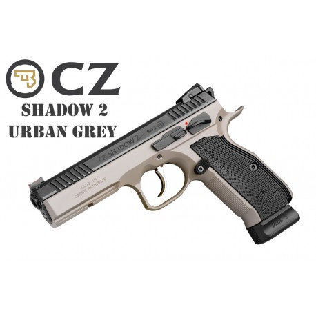CZ75 Shadow II Urban Grey cal. 9x19