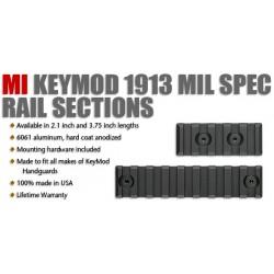 MI KeyMod Rail, 3.75 inch length