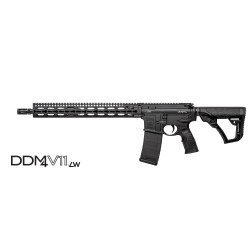 "Daniel Defense DDM4V11 LW Black 5.56mm NATO 16"" Barrel"