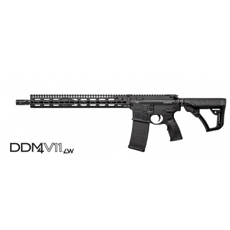"Daniel Defense DDM4V11 LW Black 5.56mm NATO 16"" Barrel"
