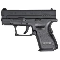 """HS Produkt HS-9 SUB-COMPACT cal 9X19 3"""" Black"""