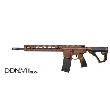 "Daniel Defense DDM4V11SLW™ Mil Spec+™ 5.56mm NATO W/14.5"" Barrel - Mid Length"