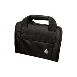 Deluxe Double Pistol Case, Black