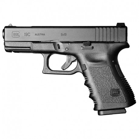 Glock 19 Gen 3 9x19mm Para - Black Compact size