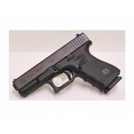 Glock 19 Gen4 9x19mm Para - Black Compact Size Threaded Barrel