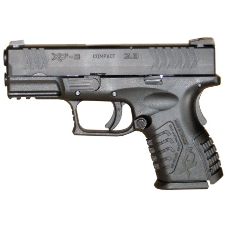 HS Produkt XDM-9 3.8 Compact cal 9X19 Black Stainless