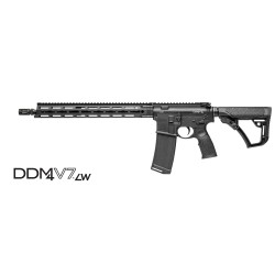 "Daniel Defense DDM4 V7LW 16"" 5.56 NATO Black"