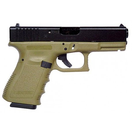 Glock 19 Gen3 9x19mm Para - Olive Drab Compact size