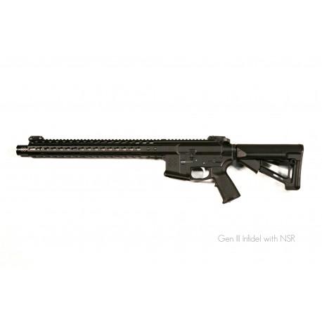 """NOVESKE 13.7"""" Gen III Infidel NSR-15 Cal.5,56x45 Black"""