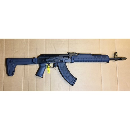 AKM47 Zhukov Black with Midwest muzzle Brake Mil Spec semi auto 415mm barrel cal. 7,62x39 Grey