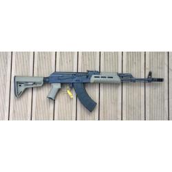 AKM47 Warrior III Mil Spec semi auto 415 mm barrel cal. 7,62x39 CMC Trigger FDE