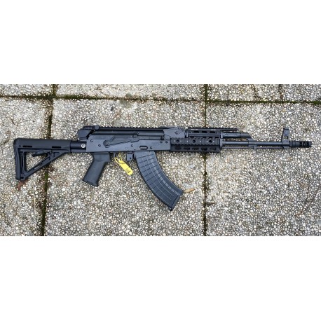AKM47 Warrior II Bravo Mil Spec semi auto 415 mm barrel cal. 7,62x39 Black