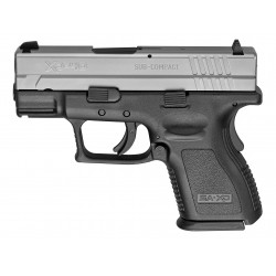 "HS Produkt HS-9 SUB-COMPACT cal 9X19 3"" Black Stainless"